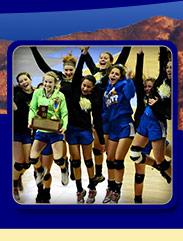 Girls Varsity Volleyball Team