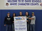 EA Row Awarded to St. David. Overall Athletic Excellence Awarded.