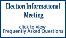 Bond Election FAQs