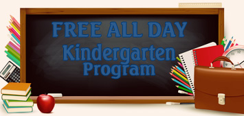 Free All Day Kindergarten Program