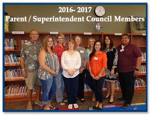 2014-2015 Parent/Superintendent Council