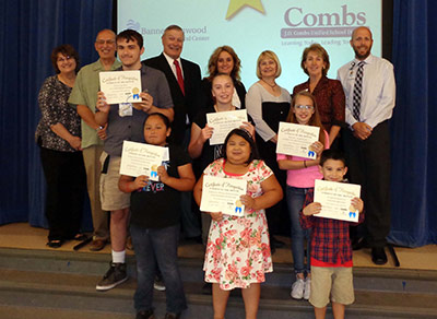 Student of the Month Recognition
