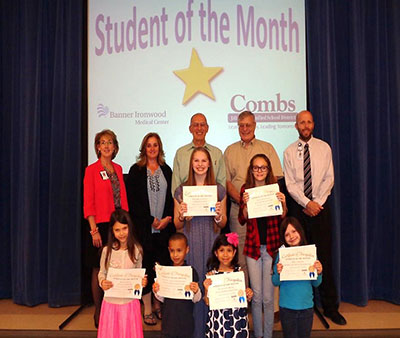 Student of the Month for February