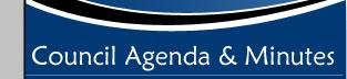 Council Agenda & Minutes