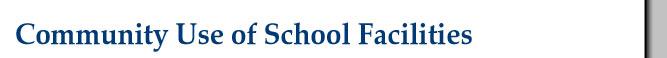 Community Use of School Facilities