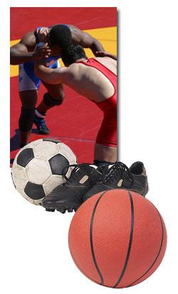 Winter Athletics - Wrestling, Soccer, Basketball