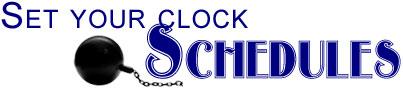 Set Your Clock Schedules