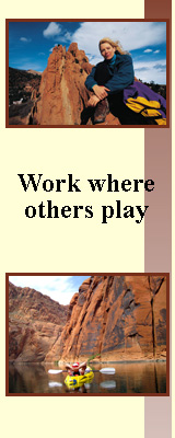 Work where others play