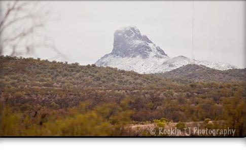 Vulture Peak Snow