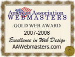 Gold Web Award 2007-2008