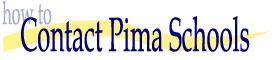 Contact Pima Schools