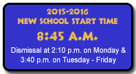 2015-2016 New School Hours