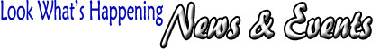 Look What's Happening | News & Events