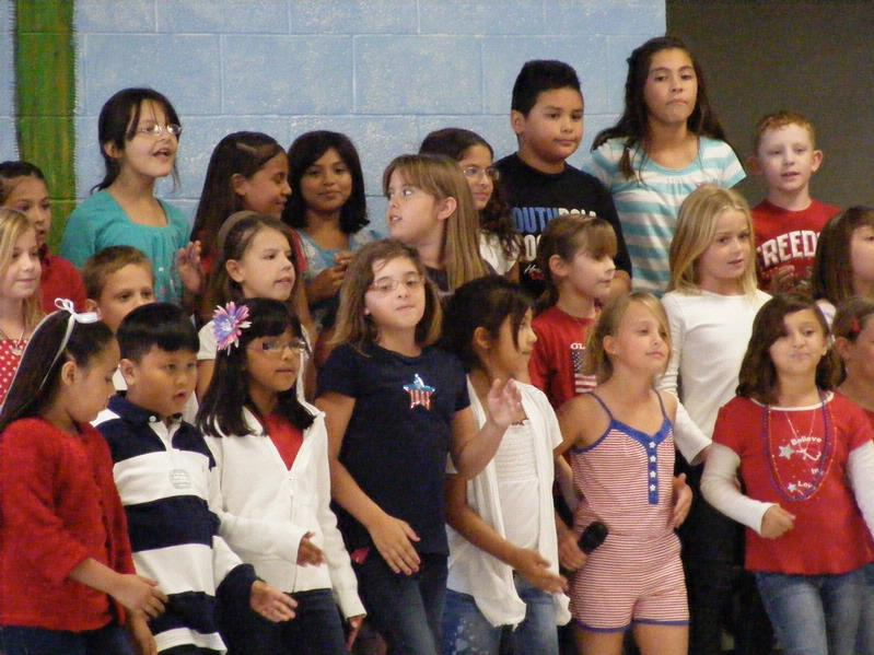 Sunrise Elementary Students