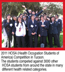 2011 HOSA Competition in Tucson