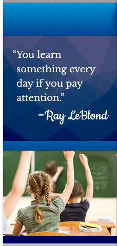 Ray LeBlond quote