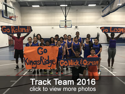 Track Team 2016 Photos