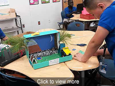 5th Grade STEM Projects Photo Gallery
