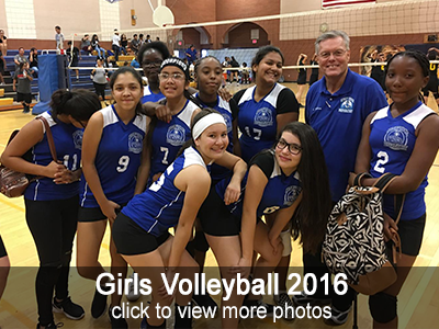Girls Volleyball 2016 Photo Gallery