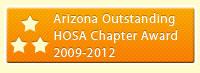 AZ Outstanding HOSA Chapter Award 2009-2012