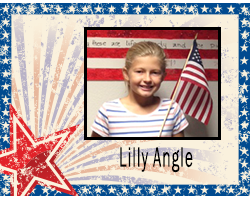 Student of the Month Lilly Angle