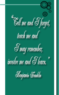 About Us - Benjamin Franklin Quote