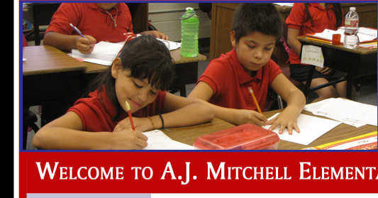 Welcome to A.J. Mitchell Elementary School