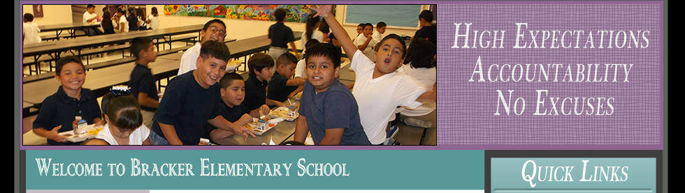 Bracker Elementary Students