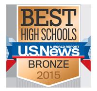 Best High Schools U.S. News Bronze 2015