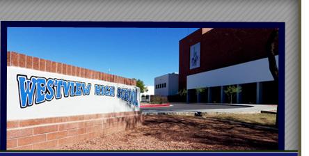 Westview High School sign