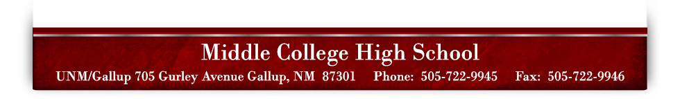 UNM/Gallup 200 College Rd, Gallup, NM 87301