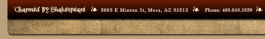 2663 E Minton St Mesa AZ 85213 Phone: 480.650.5939