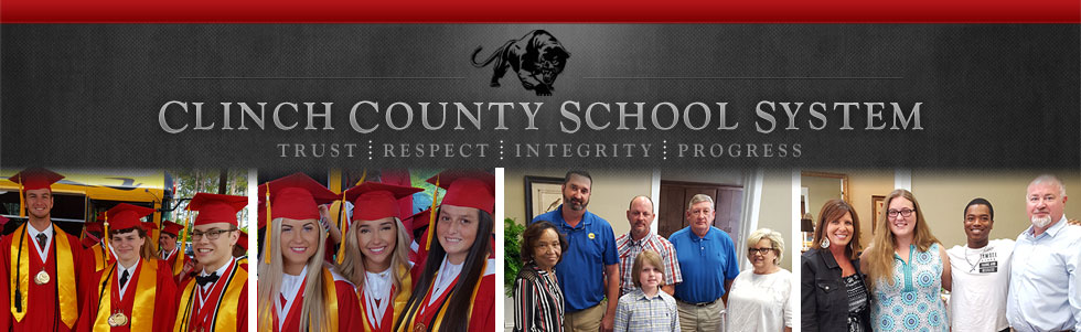 graduating students and Clinch District staff and students