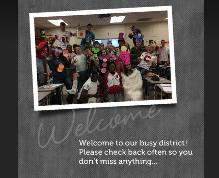 Welcome to our busy district!