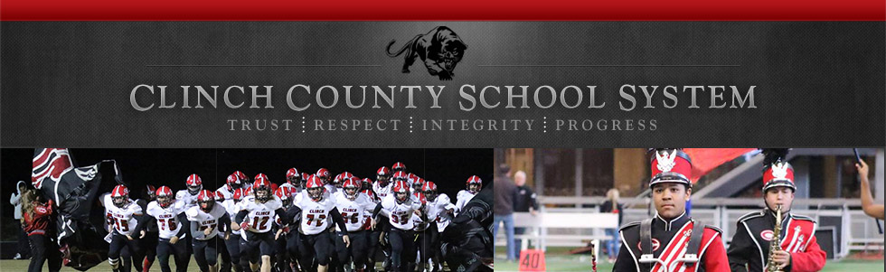 Clinch County football team and band
