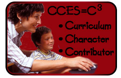 CCES=C3  Curriculum, Character, Contributor