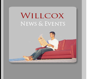 Willcox News and Events - Student on Couch