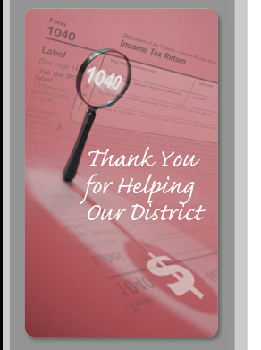 Thank you for Helping Our District