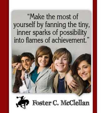 Foster C. McClellan Quote
