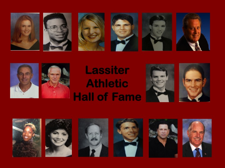 Athletic Hall of Fame Photos