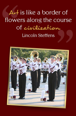 Graphic Quote by Lincoln Steffens