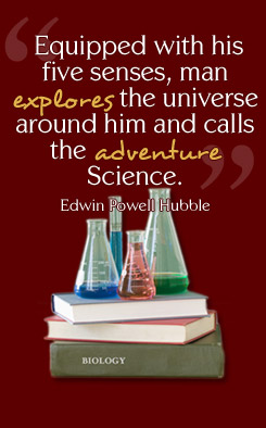 Quote by Edwin Powell Hubble