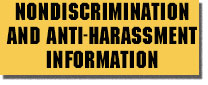 Nondiscrimination and Anti-Harassment Information