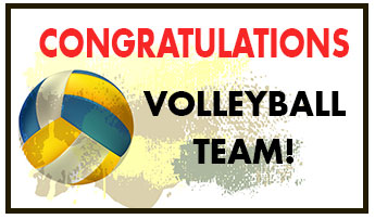 Congratulations Volleyball Team!