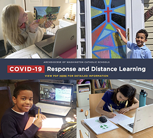 Archdiocese of Washington Catholic Schools - COVID-19 Response and Distance Learning PDF