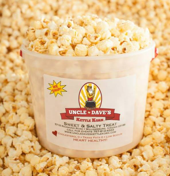 Uncle Dave's Kettle Corn - Sweet & Salty Treat