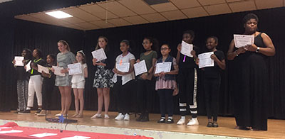 Students at the Talent Show