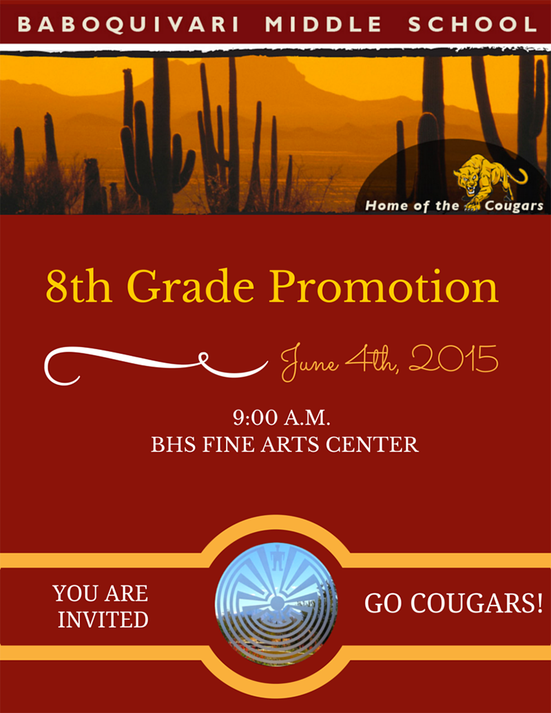 June 4th 8th Grade Promotion