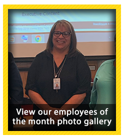Employees of the Month for July 2019