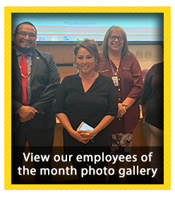 Employees of the Month for September 2019